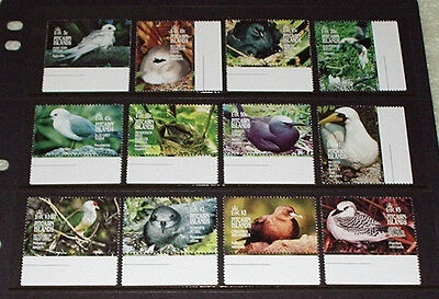 Pitcairn Islands, Birds to $5 - all mint unhinged.