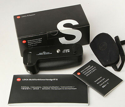 Leica 16003 multifunction grip for S2 S2P camera with 16004 wrist strap