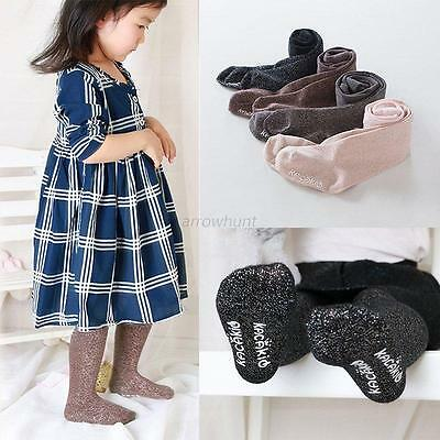 NEW Toddler Kids Baby Girls Cotton Tights Socks Warm Hosiery Pantyhose Stockings