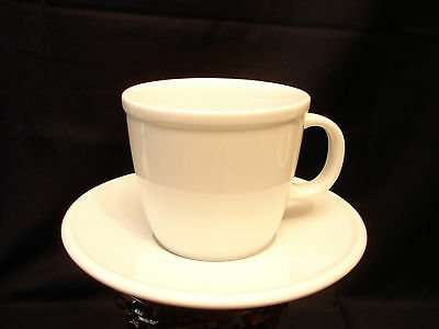 """Corona /  All White by Bodum CUP & SAUCER 3"""""""