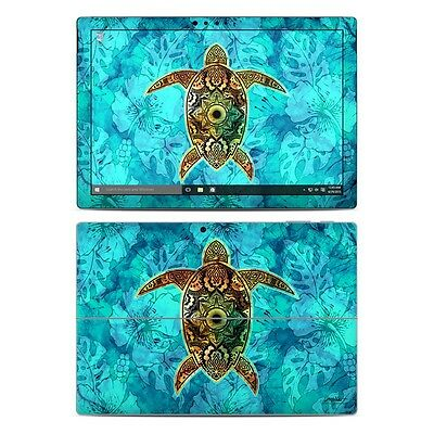 NEW Vinyl Skin for Surface Pro 3, 4, Book Blue Turtle Sticker Decal Cover