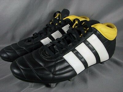 Adidas Harlequin 03 Mid Cut Rugby Boots Cleats Men's Size 14.5 US Black 2004