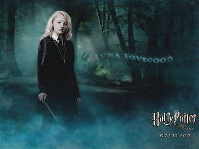 EVANNA LYNCH (Harry Potter) - unsigniertes Grossfoto (3185)