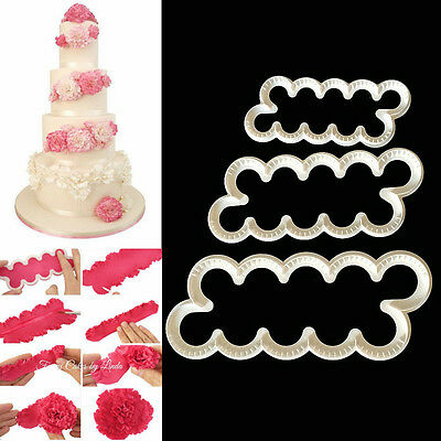 Cake Decorate Fondant Gum Paste Easiest Carnation Ever Cutters Modelling MouldFT