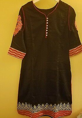 New Indian Pakistani Long Salwar Kameez Bollywood Designer Party Wear Dress