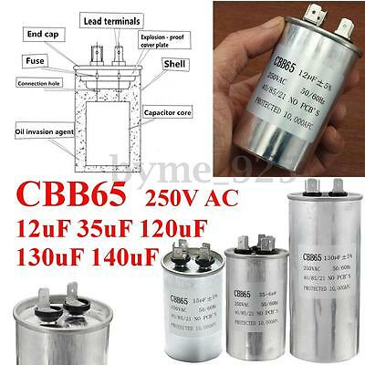 6 Kinds of CBB65 AC250V 50/60Hz Air Conditioning Oven Motor Starting Capacitor