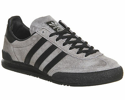 Adidas Jeans SOLID GREY BLACK Trainers Shoes