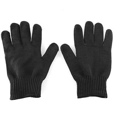 New Polyester Stainless Steel Wire Metal Mesh Glove Cut Resistant Outdoor Safety
