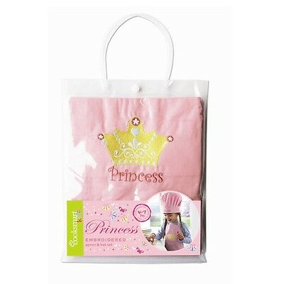 Children's Two Piece Princess Baking / Cooking Chef Set. *NEW*