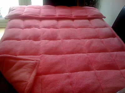10 lb WEIGHTED THERAPY BLANKET, Autism, Aspergers, ADHD, Sensory