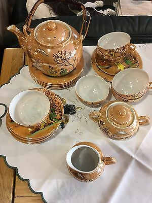 Teeservice Chinesisches Altes Teeservice 6 Personen