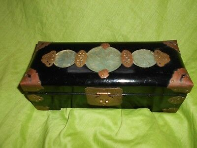 A Japanese Black Lacquered Box