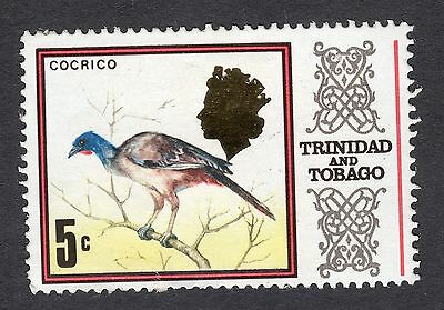 1969 Trinidad & Tobago 5c Cocrico SG 341a Good Used R8490