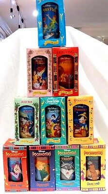 Disney Collectors Series Burger King Cups - Disney Movie Themed