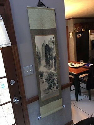 Japanese Hanging Scroll Hand Painted