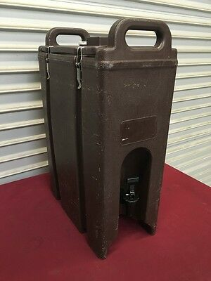5 Gal Insulated Beverage Dispenser Cambro LCD-500 #5116 Catering Portable NSF
