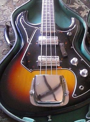 Vintage 1960's National Electric Bass Guitar