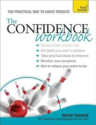 Teach Yourself Confidence Workbook by Adrian Tannock Paperback Book (English)