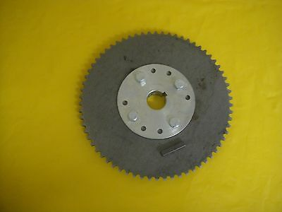 "Go Cart Sprocket And Hub For 1"" Axle .66 Tooth For #35 Chain Wao776"