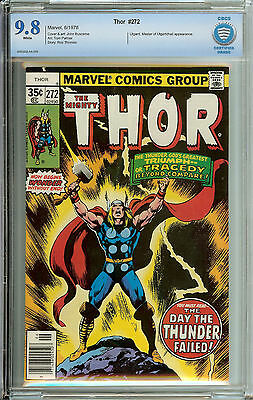 Thor #272 CBCS  9.8  WP buscema art, cover