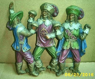 Burwood Products 3 Musketeers Wall Hanging