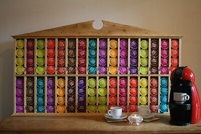 Dolce Gusto Coffee Pod Holder Fully Stocked With 32 Different Flavours