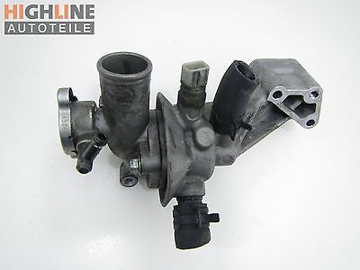 Hyundai Terracan HP 01-04 CRDI 2,9 110KW Thermostat Flansch Thermostatgehäuse