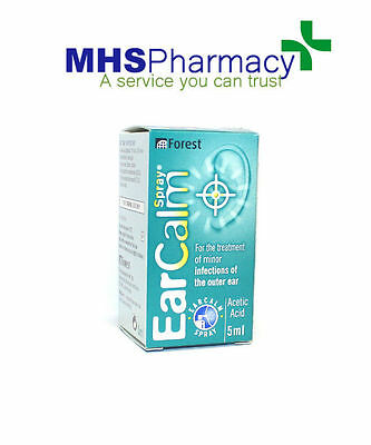 EarCalm Spray 5ml Ear Infection - ear calm