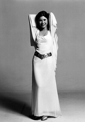 CARRIE FISHER Princess Leia Organa PHOTO Print POSTER Star Wars Episode IV 002