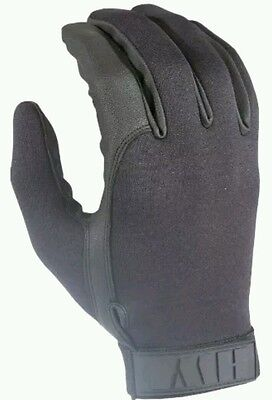 HWI Gear Neoprene Duty Shooting Tactical Glove, Small, Black