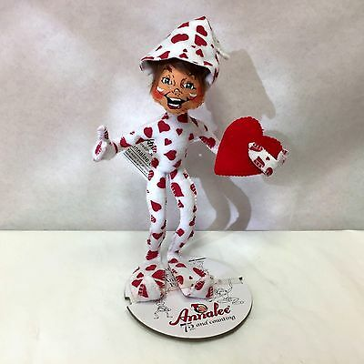 """Annalee Heartfelt Elf 10"""" Bendable And Posable  2016 75Th Anniversary New"""