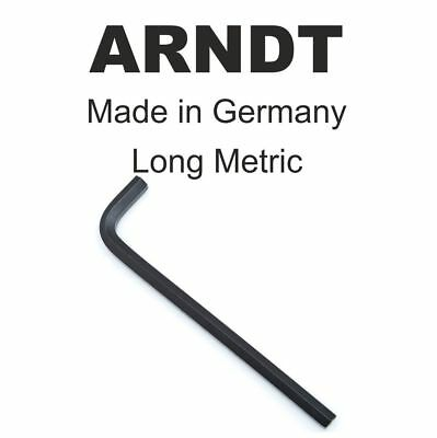 Allen Key Hex Key Allan Keys Loose Alan Keys LONG arm MADE IN GERMANY 911L ARNDT
