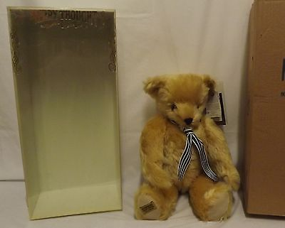 """Boxed 18"""" Merrythought Yes-No Jointed Mohair Teddy Bear Ltd. Ed. Az18Q"""