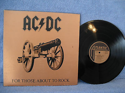 AC/DC, For Those About to Rock We Salute You, Atlantic Records SD 11111, 1981