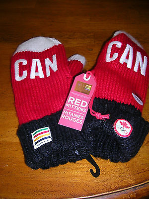 Adults Canadian Winter Olympics mittens S/M