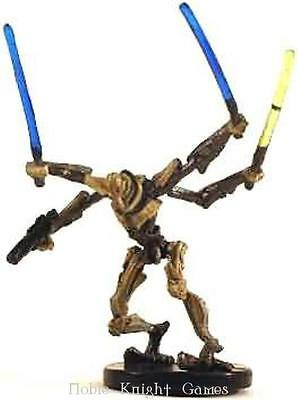 WOTC Star Wars Minis Clone Wars General Grievous - Droid Army Commander NM