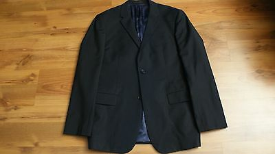 SAND Copenhagen Wool Mohair Navy Blue Suit Size 40 Made in Portugal