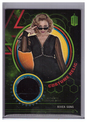 2016 Topps Doctor Who Extraterrestrial RIVER SONG Dress COSTUME RELIC 440/499