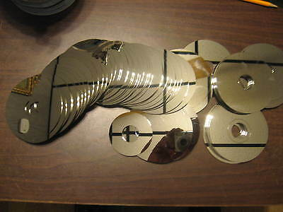 lot of 80--Scrap Hard Drive Disk Platters--Platinum Recovery, Wind Chimes,Crafts