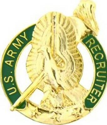 Lot of 6 US Army Recruiter GOLD Mini Lapel/Tie Pin