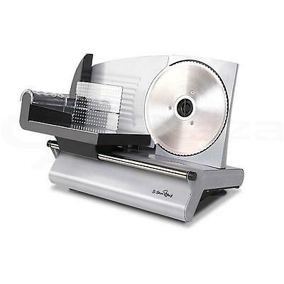 Electric Food Slicer for Meat Cheese Smallgoods Bread Fruit Deli Sliver