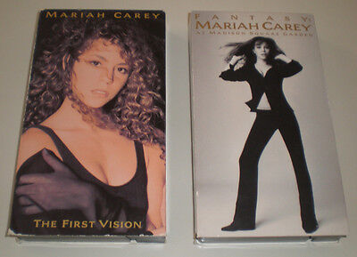 MARIAH CAREY 2 Home VIDEOS: The First Vision and Fantasy lot