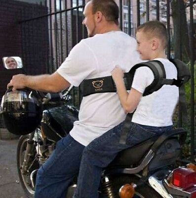 New Strap harness Safety Belt for Motorcycle Bike Electric vehicle For Kids Baby