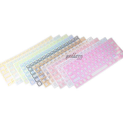 "10 COLORS Silicon Keyboard Cover Skin for APPLE Macbook Pro 13"" 15"" Air 13"""