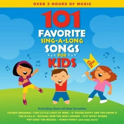 Songtime Kids - 101 Favorite Sing-A-Long Songs for Kids [New CD]