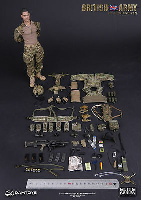 DAMTOYS 78033 1/6 British Army In Afghanistan Soldier Collectible Action Figure