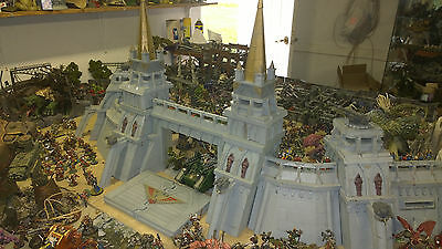 Warhammer 40k 40,000 Complete Imperial Fortress Walls Pro Painted Forgeworld Set