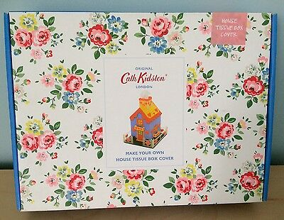 """Cath Kidston """"make Your Own Tissue Box Cover""""  Tapestry Craft Kit - Brand New!"""