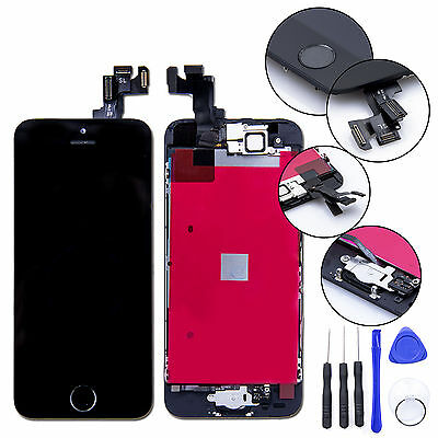 For iPhone SE Replacement LCD Screen & Digitizer & Tools - Black (High Quality)