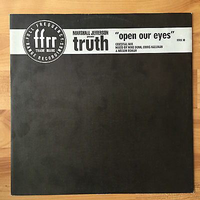 Marshall Jefferson Presents Truth – Open Our Eyes (FFRR) 1988